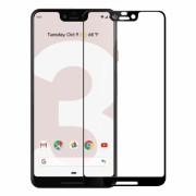 Folie protectie pentru Google Pixel 3 XL din sticla securizata full size, negru