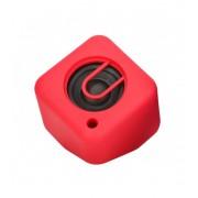 Astrum ST140 piros hordozható bluetooth hangszóró, FM rádió, micro SD olvasóval, AUX bemenettel, 3W