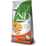 FARMINA N&D Adult Maxi - Hrană uscată pentru câini cu pește și portocale 12 kg