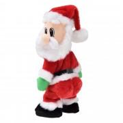 [en.casa]®. Танцуващ Дядо Мраз -коледна декорация