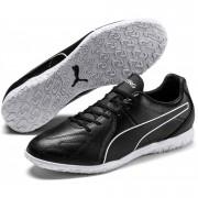 Puma King Hero Indoor Black White - Zwart - Size: 44,5