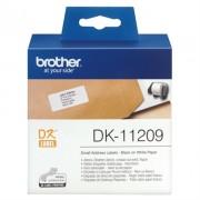 Etiquetas BROTHER 800 Unid. Ender. Peq. Autoc. 62x29 DK11209