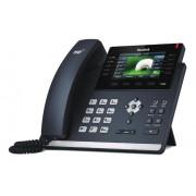 Yealink SIP-T46S telefono IP Nero Cornetta cablata LCD 16 linee