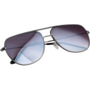 NuVew Retro Square Sunglasses(Grey)