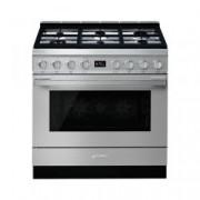 SMEG Cucina Con Piano A Gas E Forno Multifunzione Portofino Classe A+ Inox Cpf9gmx
