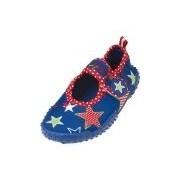 Playshoes UV waterschoenen blauw ster voor kinderen