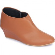 Naisha Women Casual Tan Boots