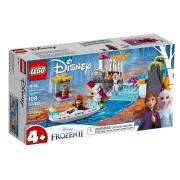 Lego Frozen 2 (41165). Spedizione sulla canoa di Anna