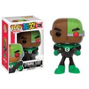 Pop! Vinyl Figura Funko Pop! EXC. Cyborg como Linterna Verde - Teen Titans Go!