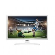 "Монитор LG 24MT49VW-WZ, 24"" (60.96 cm) WVA панел, HD, 5 ms, 5000000:1, 250cd/m2, TV Tuner DVB-/T2/C/S2, HDMI, SCART, USB"