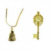 only4you combo set of hanuman chalisa yantra and kuber kunji/key which brings good luck and prosperity
