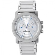 Fastrack Upgrades Analog Silver Dial Mens Watch - Ne3039Sm03
