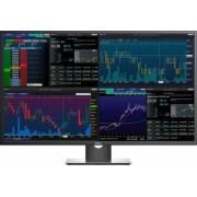 Monitor LED 43 Dell P4317Q UHD 4k IPS Black-Silver