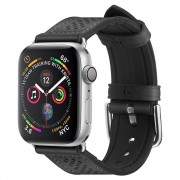 Spigen Řemínek pro Apple Watch 42mm / 44mm - Spigen, Retro Fit Black