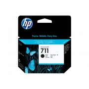 HP Cartucho de Tinta Original HP 711 de 80 ML CZ133A Negro para DesignJet T120 ePrinter, T520 ePrinter