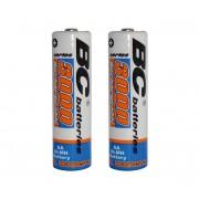 2 buc Baterii reîncărcabile NiMH AA 3000 mAh 1,2V