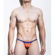 Mategear Kim Bae Tapered Sides V Front Series III Maximizer Ultra Bikini Swimwear Orange 1101203