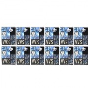 Parksons Cartamundi VVS (Single Pack) Pure Plastic Playing card for Fun / game / party - Pack of 12