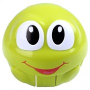 Toddlers Musical Toys Push and Go Rolling Ball Crawling Roly Poly Tumbler by Peradix, Make Different Sounds n Music When Push or Shake (Green)