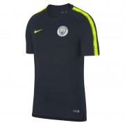 Haut de football Manchester City FC Breathe Squad pour Homme - Bleu