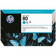 HP 80 Original Ink Cartridge C4846A Cyan