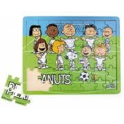 Small Foot Puzzel Snoopy Peanuts Voetbal 48-delig van hout