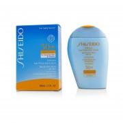 Shiseido Ultimate Sun Protection Lotion WetForce For Face & Body SPF 50+ - For Sensitive Skin & Children 100ml