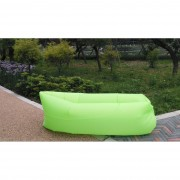 Saltea gonflabilă Lazy Bag, verde deschis