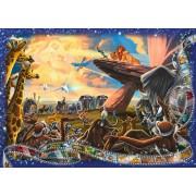 Puzzle Ravensburger - Regele Leu, 1.000 piese (19747)