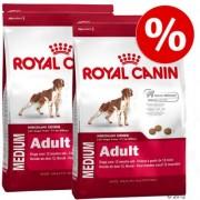 Dubbelpak: 2 x grote zak Royal Canin Size Medium Hondenvoer - Medium Junior (2 x 15 kg)
