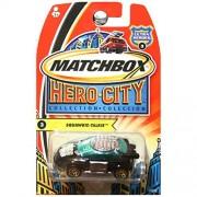 Matchbox Hero City Squawkie Talkie CB Radio Car Black and Green #3