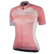 ultrakönnyű női jersey Rogelli STEL LE rövid ujj, korall 010.140.
