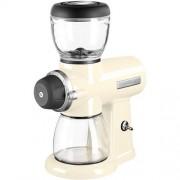 KitchenAid mlynček na kávu Artisan 5KCG0702 - mandľovo biely