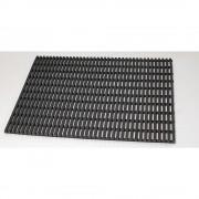 Industriematte, rutschhemmend pro lfd. m schwarz, Breite 600 mm