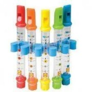 Childrens Bath Time Fun Set Of 5 Coloured Musical Water Flutes Toddler Toys