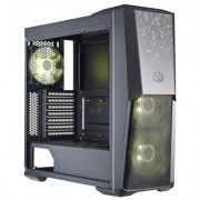 Кутия cooler master, masterbox mb500 rgb tuf edition, middle tower, atx, micro atx, mini itx, без захранващ блок, черен, cm-case-mcb-b500d-kgnn-tuf