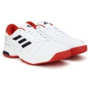 Adidas BARRICADE COURT OC Tennis Shoes For Men(White)