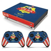 Controller Gear Officially Licensed Console Skin Bundle for Xbox One X Fallout Tricentennial