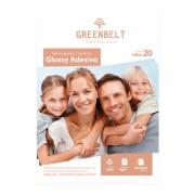 GreenBelt Papel Fotográfico Glossy Adesivo A3 115g Greenbelt 20 folhas