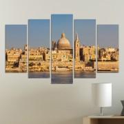 Декоративни панели за стена с изглед от Валета Vivid Home