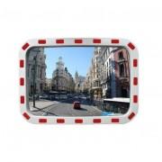 Rolléco Miroir de surveillance rectangulaire Distance vision 20m