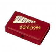 Chh Imports Double Nine Dominoes In Vinyl Case