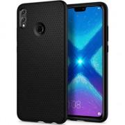 Husa telefon spigen Etui Spigen Liquid Air Huawei Honor 8X matte black uniwersalny