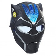 Marvel Hero Panther Feature Mask Action Figure, Black