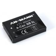Ansmann Li-Ion battery packs A-CAN NB 5 L Lithium-Ion (Li-Ion) 750mAh 3.7V oplaadbare batterij/accu