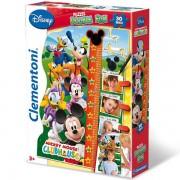 Puzzle visinometar Mickey Mouse 30 delova Clementoni, 20303