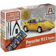1:24 Scale My First Model Kit Porsche 911 Turbo