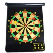 Joc de darts magnetic cu suprafata dubla de joc