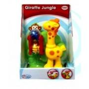 Set De Joaca Jungle Cu Maimuta, Girafa Si Bile
