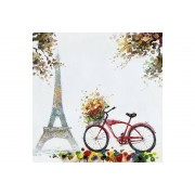 Canvastavla Paris 100x100 -